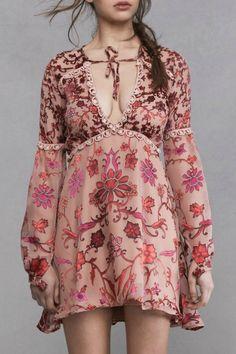 saffron mini dress @for