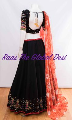CHANIYA CHOLI 2018 Silk Chania with designer brocade blouse and contrast dupatta Indian Fashion Dresses, Dress Indian Style, Indian Designer Outfits, Indian Outfits, Indian Wear, Indian Designers, Fashion Outfits, Half Saree Designs, Choli Designs