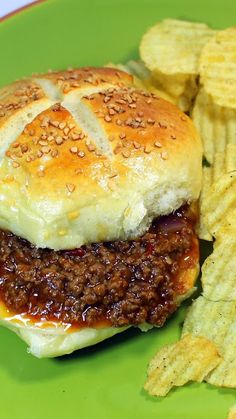 Freezable Sloppy Joe's Recipe for 100 Sandwiches - Church PotLuck Main Course