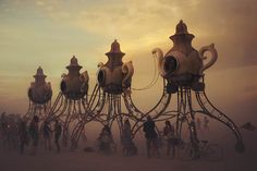 Surreal Dream-Like Photos of 'Burning Man' Capture the Carefree Essence of the Festival - My Modern Met
