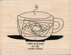 Iris Folding - Coffee & Friends