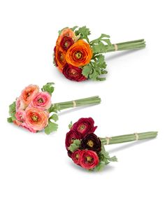 This Tied Flower Bouquet - Set of Three by Abbott is perfect! #zulilyfinds