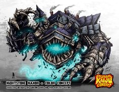 Colossal Kaiju Combat - Nightstone Manor by KaijuSamurai.deviantart.com on @deviantART
