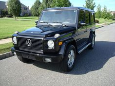 Possibly G's next car. G Wagon for G.