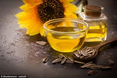 Sunflower oil is high in vitamin E, and according to Hobson, one tablespoonful can provide...