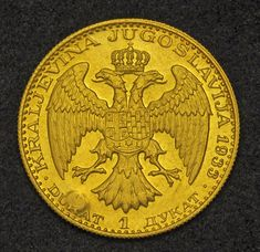 Yugoslavia Gold Ducat Yugoslavian Gold Coins Yugoslavia Ducat Gold Coin of King Alexander I. Yugoslavian Gold Coins, collection of Yug. Gold Coin Image, Gold Money, Gold And Silver Coins, World Coins, Crypto Currencies, Coin Collecting, Museum, Collection, Stamps