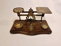 Antique Victorian postal scale with the Diamond Jubilee Concession rates from 1897   #vintage #scale #antique #etsy #homedecor