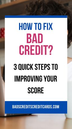 Bad Credit Repair. The world of bad credit repair is quickly turning into an exciting field to work in, and many people are discovering the amazing opportunities that await them. A bad credit score can often put many people in a very bad financial situation, but with some basic steps that you can take to fix your credit score, you can turn your life around in no time. #badcredit #fixbadcredit #fixbadcreditscore #howtofixbadcredit #howtofixbadcreditscore My Credit Score, Improve Your Credit Score, Credit Cards, Fix Bad Credit, Fix Your Credit, Money Tips, Money Saving Tips, Credit Repair Services, Turn Your Life Around