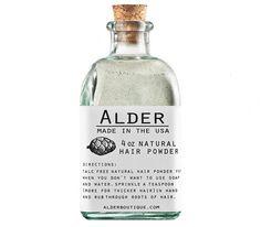 Organic Natural Dry Hair Powder - Kaufmann Mercantile