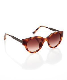 Another great find on #zulily! Ivanka Trump Honey Tortoise Emphasized Flare Sunglasses by Ivanka Trump #zulilyfinds