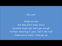 Zedd, Liam Payne - Get Low Lyrics Video