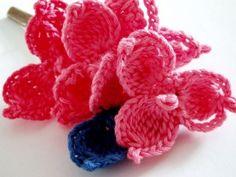 CROCHET PATTERNS (Pattern #75 Hydrangea) -Crochet & Knit Design Heaven