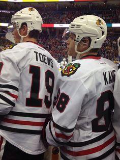 Toews & Kane • Chicago Blackhawks • yourstoryisimportant13.tumblr.com