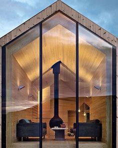 """13.8 mil curtidas, 53 comentários - A Designer's Mind (@adesignersmind) no Instagram: """"A winter cabin for all seasons... Project by: Reiulf Ramstad  #homedesign #lifestyle #style…"""""""