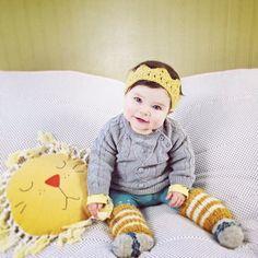 Lion pillow from Mini Bohème