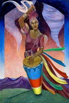goddess of yoruba mythology Oya Orisha, Oya Goddess, Orishas Yoruba, Afro, Yoruba Religion, Esoteric Art, Black Goddess, Warrior Queen, Black Artwork