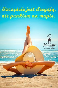 Zgadzacie się? :) #szczęście #holiday #wakacje #plaża #morze #lato #cytat #motywacja #inspiracja #fit #ciało #maczfit Catering, Fit, Outdoor Decor, Inspiration, Biblical Inspiration, Catering Business, Shape, Gastronomia, Inspirational