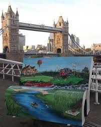 Image result for book benches in london