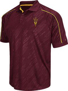 5e205ebbd Arizona State Sun Devils Mens Maroon Sleet Synthetic Polo Shirt $44.95  Texas Tech Red Raiders,