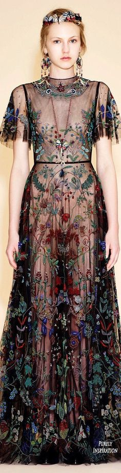 Valentino Resort 2016 Women's Fashion RTW | Purely Inspiration| #runway