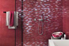 White-paste Mosaic EWALL White-body wall tiles Collection by Atlas Concorde
