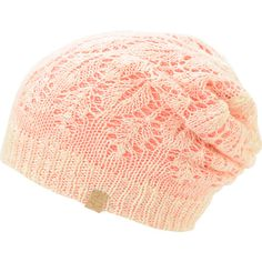 Get double the looks with the delicate and soft Empyre Girls Noble vanilla and pink reversible lace beanie. Increase your outfit options with a vanilla lace and tight ribbed knit pink colorway on the reverse so that you can match with more looks in the No