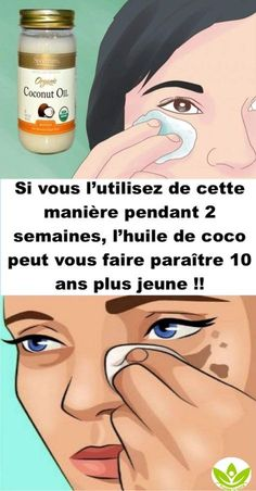If you use it this way for 2 weeks, coconut oil can make you younger Personal Beauty Routine, Beauty Routines, Natural Eye Makeup, Natural Face, Concealer Tips, Instant Face Lift, Beauty Games, Plus Populaire, Beauty