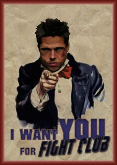 I Want You For Fight Club - fight-club Fan Art