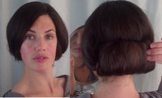 How to EASY authentic EDWARDIAN updo for MEDIUM LONG hair - Vintagious