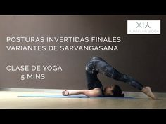 (27) secuencia de posturas invertidas con sarvangasana - YouTube