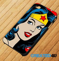 Wonder Woman/ Diana Prince iPhone 4/4s Phone case Etsy want