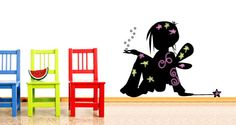 I love it! Fairy child chalkboard