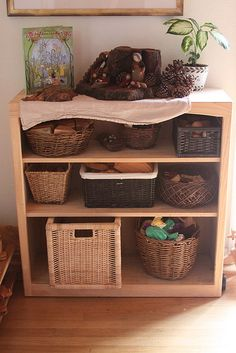 Toy Shelves/Nature Table ≈≈