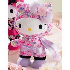 Rare Hello Kitty Cosplay Ninja Plush Doll Stuffed Japan Limited Sanrio Cute New