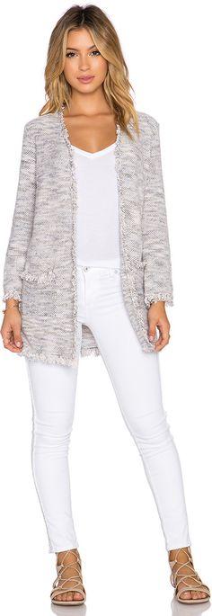light grey sweater jacket