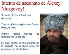 Atentado contra el comandante, Alexei Mozgovoi, perpetrado por los terroristas de Kiev