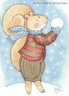 It's Snowing! - Carmen Medlin