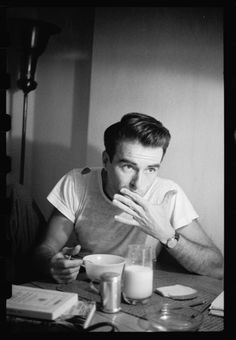 "Montgomery Clift, Photographed By Stanley Kubrick In 1949 For An Article Titled ""Glamor Boy In Baggy Pants."" Photo: Stanley Kubrick; Library of Congress"
