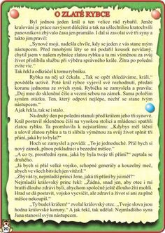 Czech Republic, Fairy Tales, Education, Children, Literature, Archive, Toddlers, Boys, Kids
