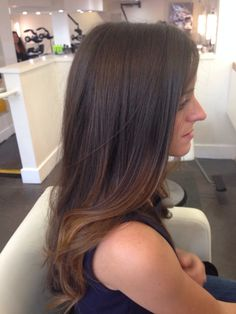 Really subtle and soft balayage pieces