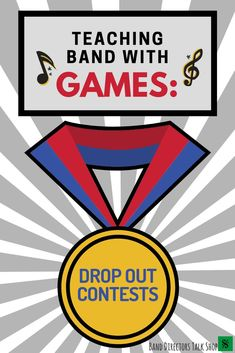 Teaching Band with Games - Drop Out Contests - Band Directors Talk Shop Music Theory Games, Music Education Games, Music Activities, Music Games, Music Bingo, Rhythm Games, 6 Music, Music Lesson Plans, Music Lessons