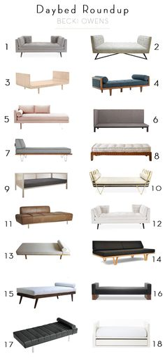 Daybed Roundup - Becki Owens (Already thinking about the next room! We'll need another board.)