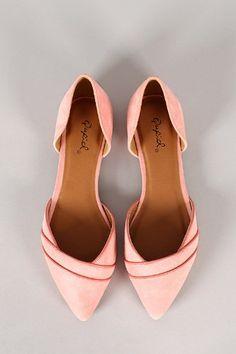 Amazon.com: Qupid Women's Pointer-56 Pointy Toe Flat: Shoes