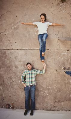 Very cool engagement photo.  *Funny, not sure how this is an engagement photo...but whateves:)