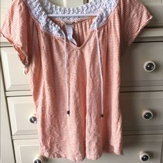Luck Brand Top Good condition, very cute! Lucky Brand Tops