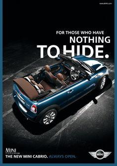 2009 Mini Cooper Convertible: Exclusive look at marketing materials !