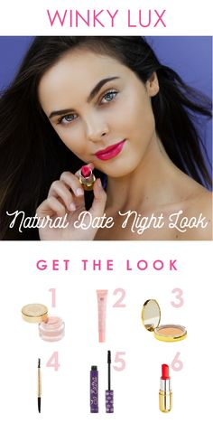 1de2fa54716 Get the perfect natural date night look with these Winky Must-Haves: (1