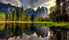 Yosemite Cathedral Rock by Jim Radford on 500px