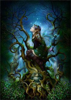 Nightshade fairy t shirt,gothic fairy t shirt,fairies,the mountain,fantasy Magical Creatures, Fantasy Creatures, Fantasy Kunst, Fantasy Art, Dragons, Elfen Fantasy, Fairy Queen, Love Fairy, Beautiful Fairies