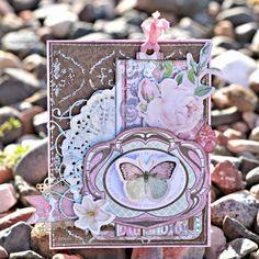 Seja impressionante Hoje cartão por Rhonda Van Ginkel usando Primrose e Madeleine BoBunny Colecções